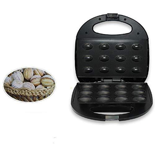 Sandwichera Multifuncional,Máquina eléctrica para hacer pasteles de nueces mini utensilios para hornear antiadherentes para el hogar aparatos para hacer pasteles