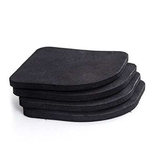 Peanutaor Pratique Design Blanchisserie Machine À Laver Antichoc Pad Coton Mute Pad Multifonctionnel Réfrigérateur Antidérapant Tapis + Noir