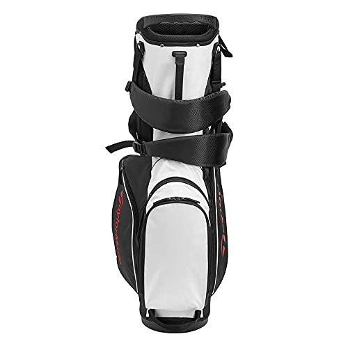 Product Image 5: TaylorMade 5.0 ST Bag, Black/White/Red