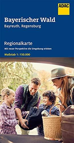 ADAC Regionalkarte Blatt 13 Bayerischer Wald 1:150 000: Bayreuth, Regensburg (ADAC Regionalkarten 1:150.000)