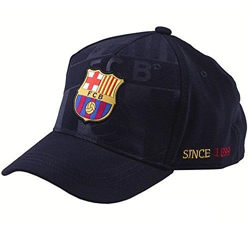 Gorra F.C. Barcelona soccer marino talla: Junior