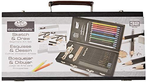 Royal & Langnickel - Set per schizzo e disegno per principianti