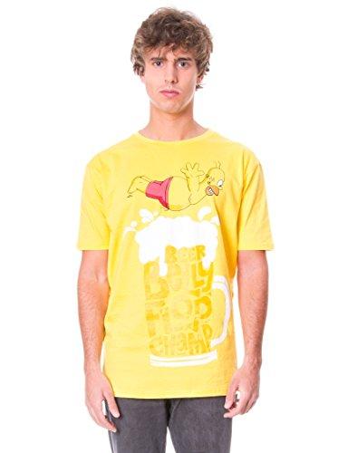 Madness Camiseta Manga Corta The Simpsons Amarillo XL