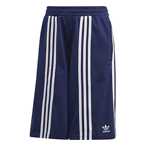 adidas Donna Shorts Pantaloni Blu, 34
