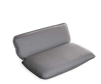 BINO Super Softee Non-Slip Cushioned Bath Pillow With 8 Suction Cups