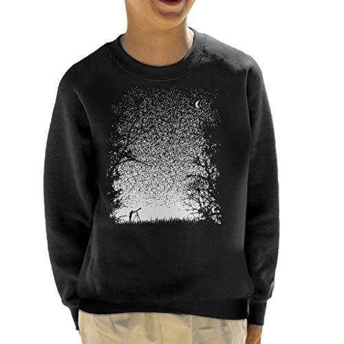 Cloud City Sweatshirt 7 pixels Stargazing Kid's