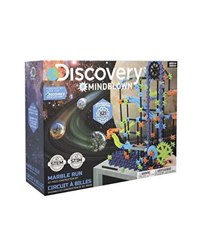 Discovery Mindblown, Pista, Juego canicas Circuito, Piezas construccion, Juguetes para niños, Color Azul (6000343)