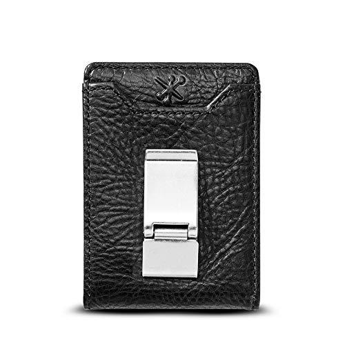 HOJ Co. DEACON ID BIFOLD Front Pocket Wallet-Full Grain Leather-Bifold Money...