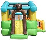 DFJU Infláveis Castelos Insufláveis Castelo Inflável Brinquedo Infantil Parque Infantil Slides Infantis Grande Cama Reformadora Exterior Casa Castelo Brinquedos (347 * 532 * 262 cm)