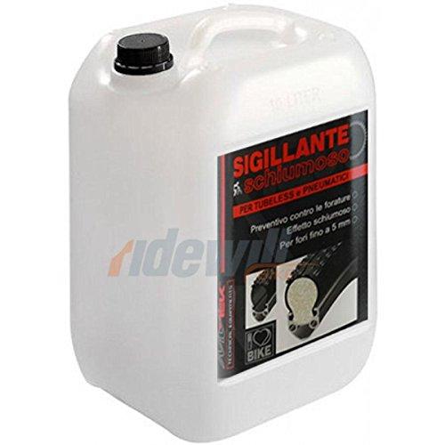 MV-TEK Sigillante tubeless schiumoso 5L (Liquidi Sigillanti)   Foaming tubeless sealant 5L (Sealant)