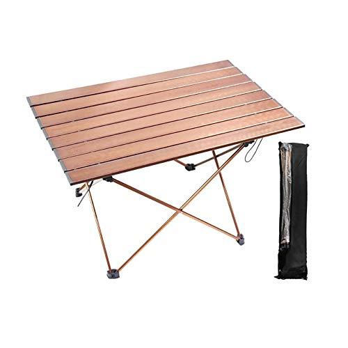WYYH Campingtisch Klappbar Leicht, Tragbare Aluminiumlegierung Camping Klapptisch Verschleißfest Und rutschfest Klapptisch Tisch Klappbar Verwendet Für Picknick Camping Strand Barbecue