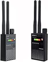 Anti Spy RF Signal Wireless Bug Hidden Camera Detector GSM Listening GPS Tracker Finder (G318 Black)