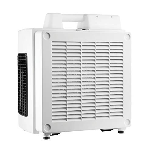 XPOWER X-3780 Professional 4-Stage HEPA Air Scrubber with Activated Carbon Filter, White