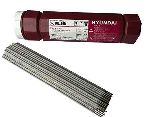 Schweißelektroden Edelstahl 1.4316 (308L) V2A /1.4430 (316) V4A INOX NIRO (Edelstahl V4A, Ø2,0 x 300mm 1,0kg)