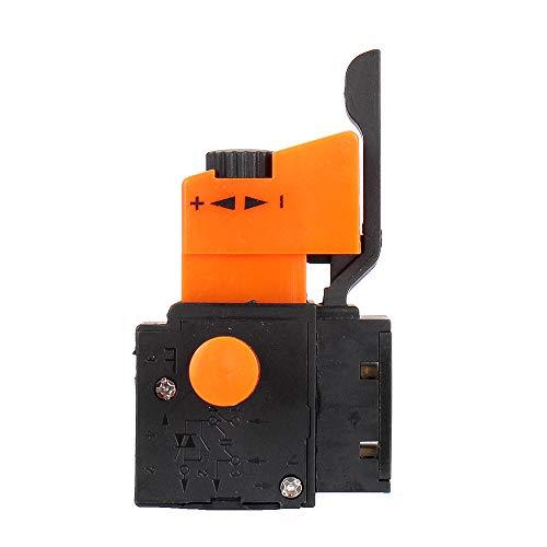 ZOYOSI FA2-4/1BEK FA2-6/1BEK Lock On Power Tool Electric Drill Speed Control Trigger Push Button - FA2-6/1BEK