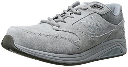 New Balance Men's 928 V3 Lace-Up Walking Shoe, Grey/White, 11 W US