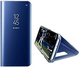 Xiaomi Mi Mix 2 Clear View Stand Cover Case - Blue