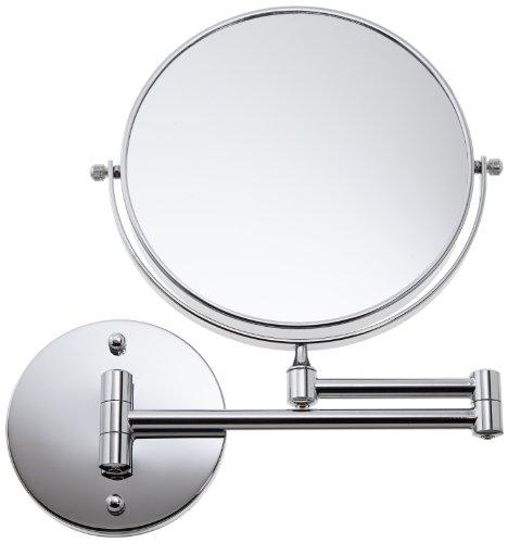 Loywe 7 Fach Normal Kosmetikspiegel Schminkspiegel Rasierspiegel klappbar Wandspiegel LW32 (7 Fach)