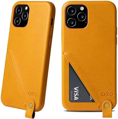 Alto Anello 360 Leather Card Case Compatible with iPhone 12 and 12 Pro 6 1 inch Drop Protective product image