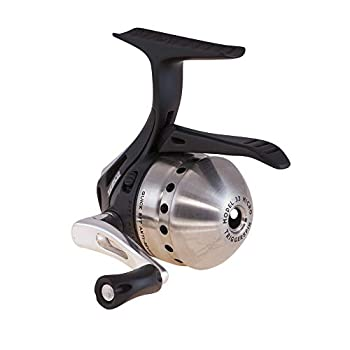 Zebco 33 Spincast Fishing Reel QuickSet Anti-Reverse with Bite Alert Smooth Dial-Adjustable Drag Powerful All-Metal Gears with a Lightweight Graphite Frame