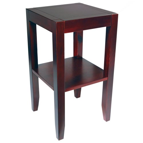 WATSONS ANYWHERE - Solid Wood End/Telephone/Side/Bedside Table - Wenge