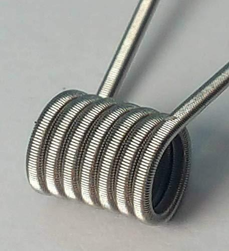 2 Core Kanthal1 MtL Clapton Coil für Selbstwickelverdampfer RDTA RTA RDA Handmade in Germany