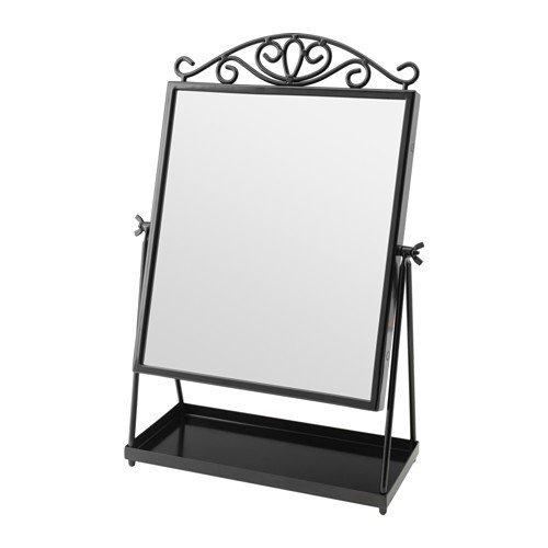 Ikea KARMSUND Tischspiegel in schwarz; (27x43cm)