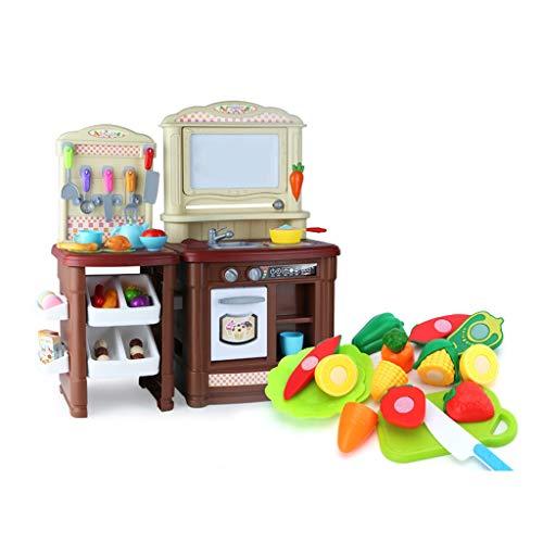 CHUAN YUAN-TOY Cocina for niños Juguetes, Dos Modelos de