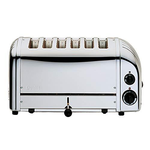 Dualit 6 Slice Toaster 60144 - Polished