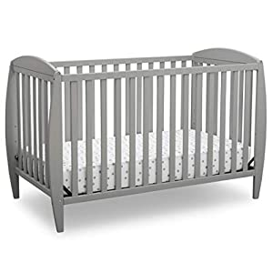crib bedding and baby bedding delta children twinkle 4-in-1 convertible baby crib, easy to assemble, sustainable new zealand wood, grey