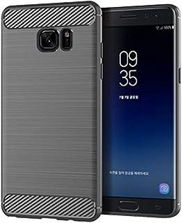 SKKMALL For Samsung Galaxy Note Fan Edition Mobile Shell For Samsung Note Fan Cover Silicone Soft Shell (Color : Grey, Siz...