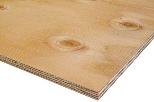 針葉樹合板(構造用合板) 厚み12mm JAS F☆☆☆☆ 棚板・コンパネ (600×300mm)