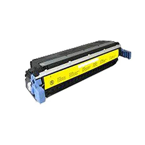 PerfectPrint - Cartucho de toner compatible C9732A Amarillo para HP Laserjet 5500 5500dn 5500dtn 5500hdn 5500n 5550 5550n 5550dn 5550dtn