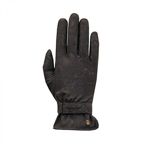 Roeckl Erwachsene Kibo Handschuhe, Schwarz/Stonewashed, 9.5