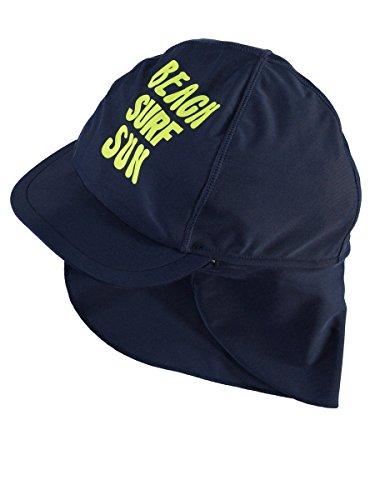NAME IT Jungen Sonnenhut Blau nitZorro UPF 50+ UV Schutz Bade-Hut - Größe: 48/49