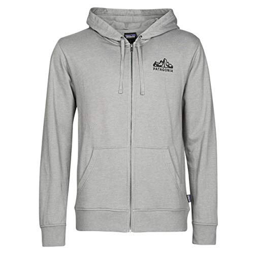 Patagonia M's Fitz Roy Scope Lw Full-Zip Hoody Herren-Sweatshirt XL Erika-Grau