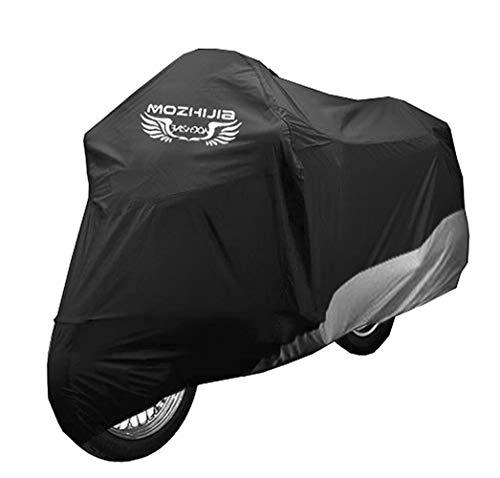Couvercle de vélo, Couvercle de vélo avec Sac de Rangement pour Trou de Verrouillage pour Stockage extérieur de vélo de Route électrique Mountain Bike Moto Cruiser, étanche, Anti-UV, (S-XXXL)-S-