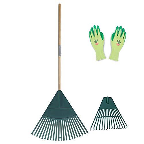 Colwelt Plastic Leaf Rake Set