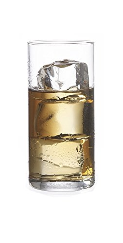Dkristal Aleman Corto Vaso para Combinados, 0.2 L, Cristal, Transparente, 5x5x11 cm, 12 Unidades