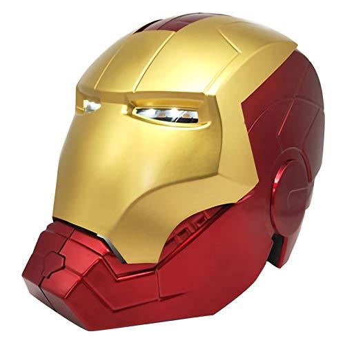 Iron Man Helm, Möbel Ornamente, Anime Modell Spielzeug Geschenk 1/1 Toy Modell Augen...