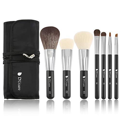 DUcare Brochas de Maquillaje 7 Piezas con Bolsa...