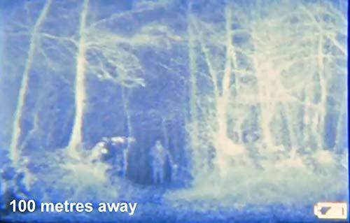 Nightfox 100V - Prismáticos de visión nocturna por infrarrojo digital - Visor panorámico - 3x20 1