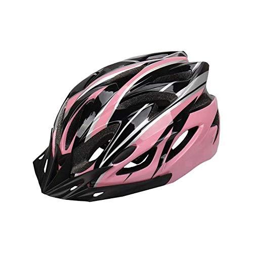 Danning Casco de Bicicleta Unisex Casco de Bicicleta de montaña Patineta Casco de aerotabla para Seguridad de conducción Ligero Ajustable para Hombres y Mujeres