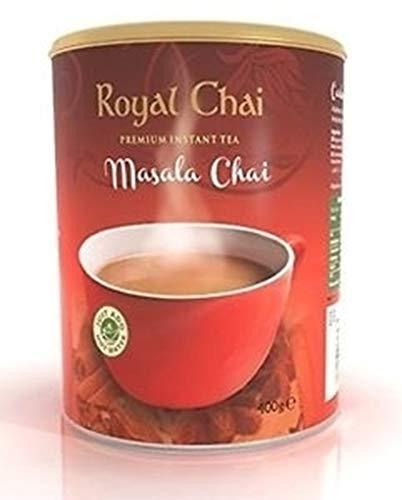 Royal Chai Masala - Latta dolcificata 400 g (confezione da 2)