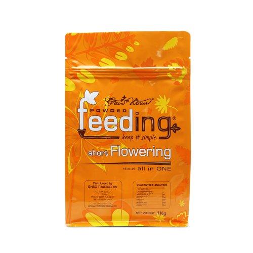 Powder Feeding SFLO-PFCH Green House Short Flowering 1 kg, Arancione, 15 x 18 x 7 cm