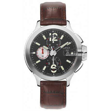 Reloj Alfex automático 5567/055 de Hombre con Correa de Cuero Marron