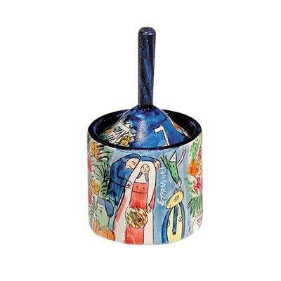 Dreidel Hanukkah Gifts Ornament Game - Yair Emanuel HANUKKAH DREIDEL BOX FIGURES (Bundle)
