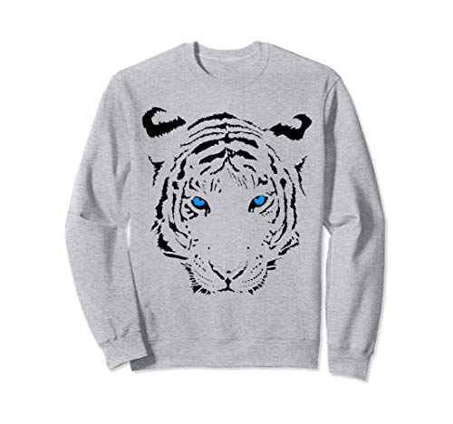 Siberian Bengal white tiger lover I love tigers big cats cat Sweatshirt