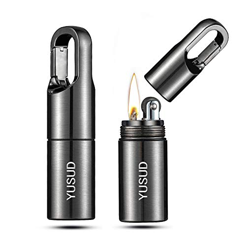 yusud 2 Pack Trench Lighter, EDC Gadget Cool Pipe Lighter...
