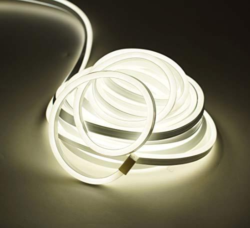 LED Licht Schlauch 10m warmweiß - 900 LED - Lichterschlauch Deko Beleuchtung Außen